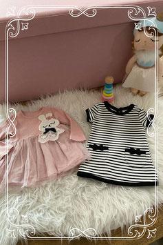 Set van twee jurkjes waarvan één van Eafei Fasion en één van de Primark - maat 62