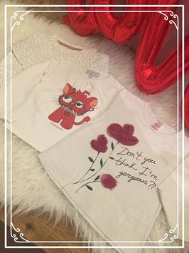 Set bestaande uit 3 shirts van verschillende merken - Maat 86/92