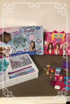K3 fan tas - Frozen kralenset en Lego - vanaf 4 jaar