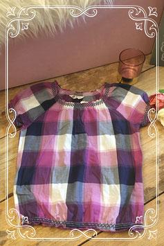 Leuke blouse top in paarstinten van H&M-maat 146-152