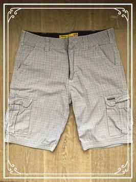 Korte broek wit-blauw geblokt van het Merk - Noize - Maat S