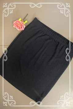 Mooie zwarte rok van Casual Clothing maat XXL