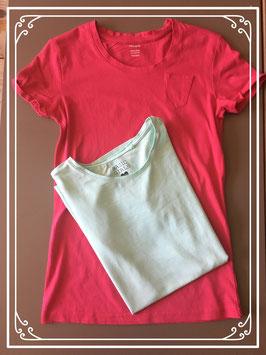 2 nieuwe basic shirtjes Hema en C&A-maat 158-164