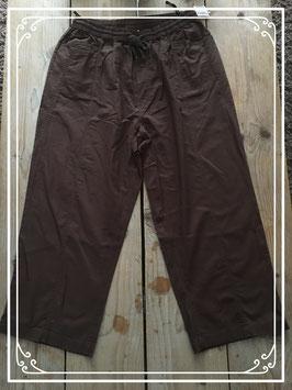 Nieuw: Luchtige bruine broek van Livera - Maat L