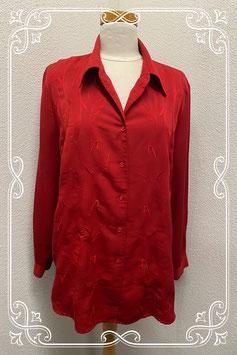Nette rode blouse van Anna Carina maat 44/46