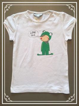 Wit T-shirtje van JBC - maat 110