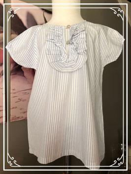 Glitter blouseje van Zara kids maat 122