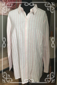 Roze/wit gestreepte tuniek van BPC - maat XL