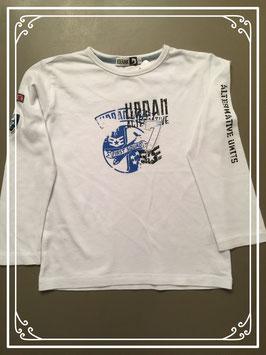 Wit shirt met print van Doerak - maat 110
