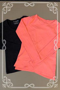 Nieuw! Zwarte en roze longsleeve van Anni Rolfi en C&A maat S