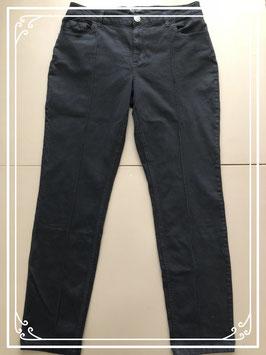 Zwarte stretchbroek van MS mode-maat 42