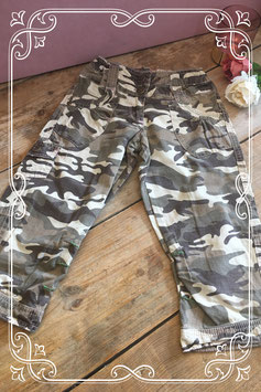 Broek met legerprint van Jeans Division - Maat 134-140