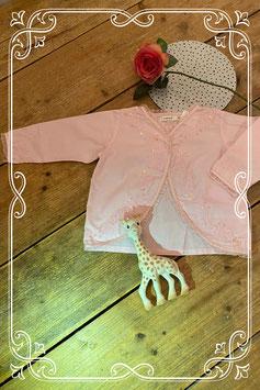 Roze blouseje van NAME-IT - maat 74