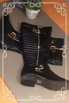 Hoge zwarte laarzen van Top Or maat 41