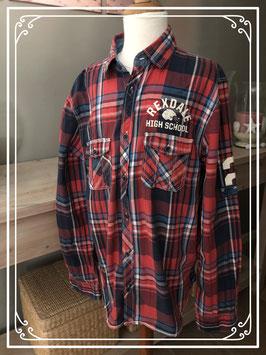 Rood geruite blouse van H&M - Maat 170