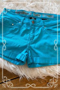 Blauwe hotpant van de H&M - maat 170