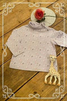 Leuke paarse trui met col van Disney Baby maat 98