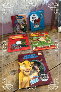 Heerlijk lees en doe pakket van oa Disney Martin Morning en Nellie en Cezar