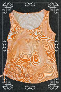 Leuke wit met oranje top maat S