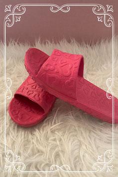 Roze badslippers maatje 35