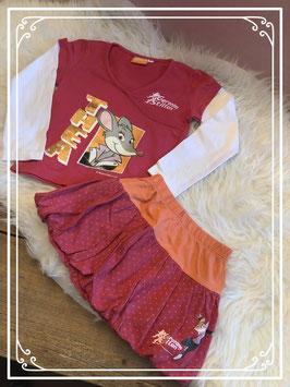 2 delige kleding set van Geronimo Stilton met Thea - Maat 92