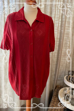 Rode  blouse van het merk Basic Concept - maat 52