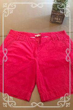 Korte rode broek van Casual woman Tex maat 44
