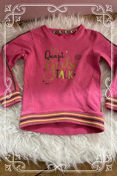 Roze trui van Quapi Girls - Maat 110-116