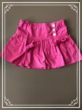 Roze rok met plooien - Maat 98