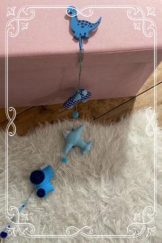 Blauwe decoratieslinger van Kiddy Color