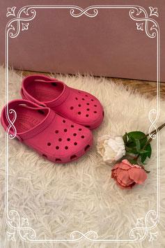Originele roze crocs maatje 35