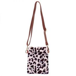 Nieuw: Handig en leuk in luipaard print tasje van Yehwang