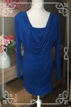 Elegant blauw jurkje van SoBe maat S