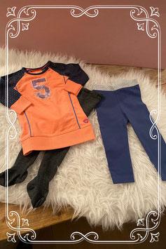 3 delige kledingset van Quapi - Maat 68