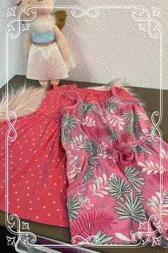 Zoet jurkje en broekpakje van Name It 2 stuks Maat 86