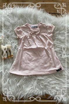 Leuk roze t-shirt met een strik van Dirkje - maatje 68