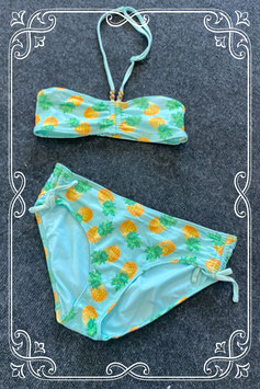Leuke bikini met ananassen van H&M maat 170