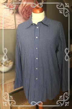 Ruitjes blouse van de Hema easy classic maat L (41-42)