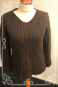 Mooie bruine trui van M&S Mode maat XXL/52