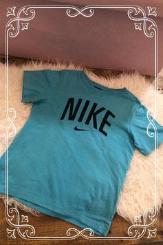 Sportief blauw Nike t-shirt - Maat 134