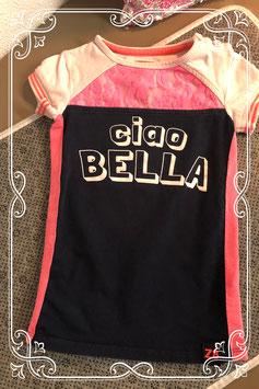 Blauw roze jurkje van het merk Z8 - maat 80