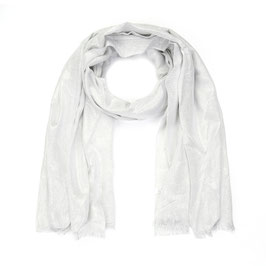Nieuw: Sunset Fashion - Fijne glittersjaal - Zilver
