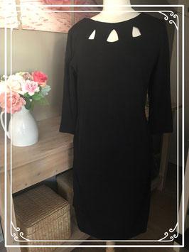 Zwarte jurk met ronde hals van Anna Field Mama - Maat L