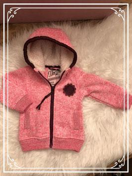 Sportief roze vest van Vingino - Maat 68