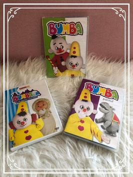 """Drie Bumba dvd""""s"""