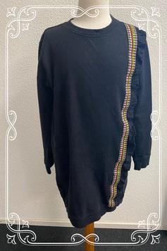Lange zwarte trui van Teen Girls maat 158