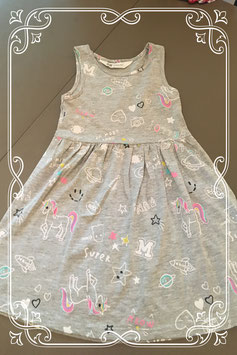 Super leuk jurkje met printjes van de H&M - maatje 98/104