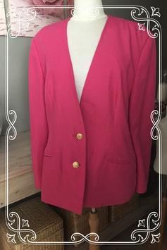 Roze blazer van Nino - Maat XL