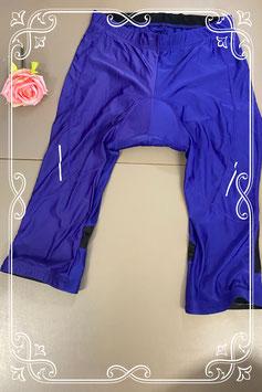 Paars wielrenner broekje van Crivit Sports maat L (44/46)
