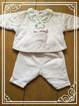 Roze babypakje van het merk Sucre d'Orge - maat 56